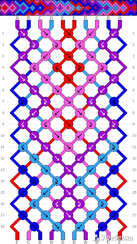 Схема фенечки 32394