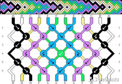 Схема фенечки 32441