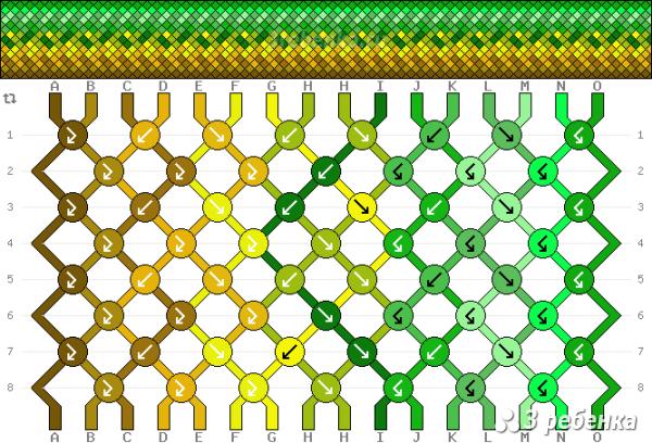 Схема фенечки 32472