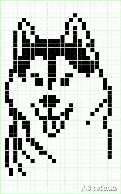 Схема фенечки прямым плетением 31716