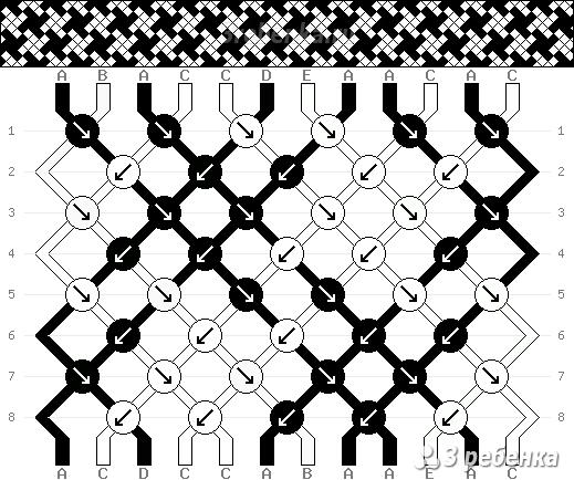 Схема фенечки 32528