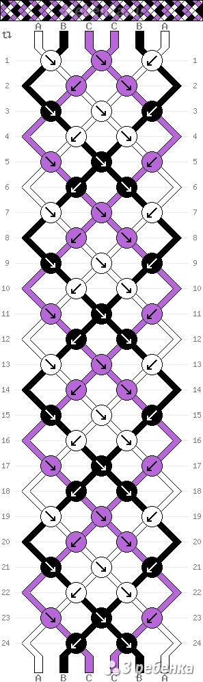 Схема фенечки 32547
