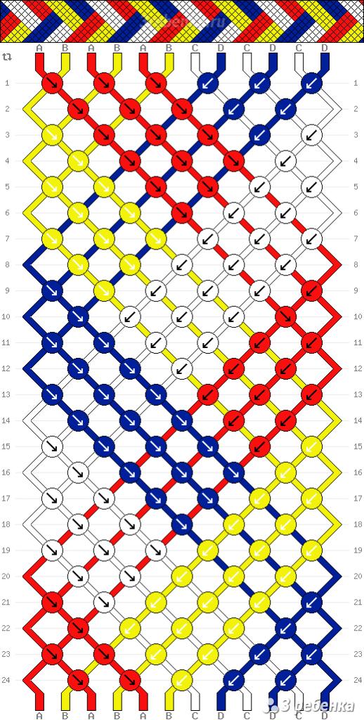Схема фенечки 32563