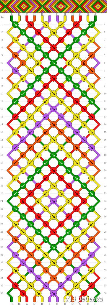 Схема фенечки 32567