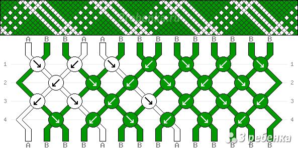 Схема фенечки 32573