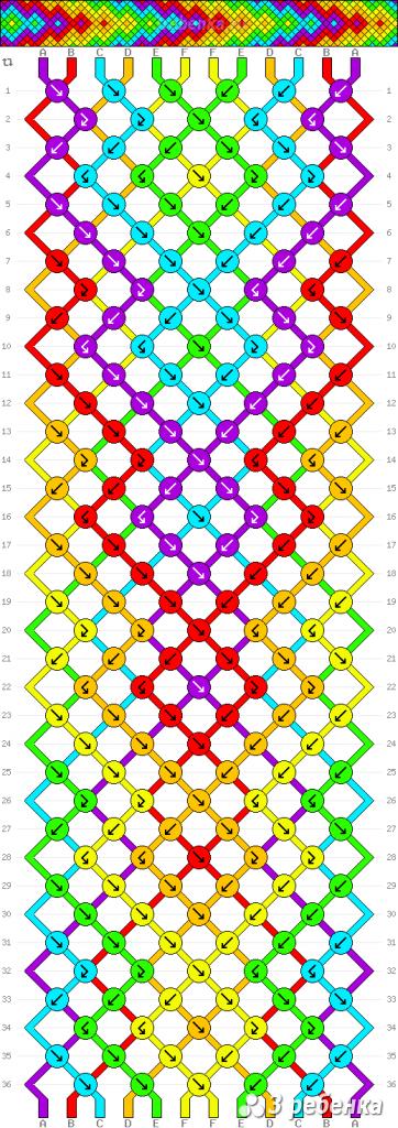 Схема фенечки 32603