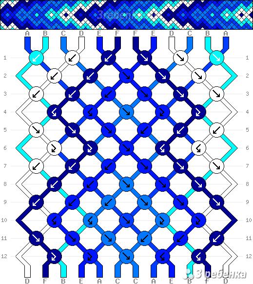 Схема фенечки 32615