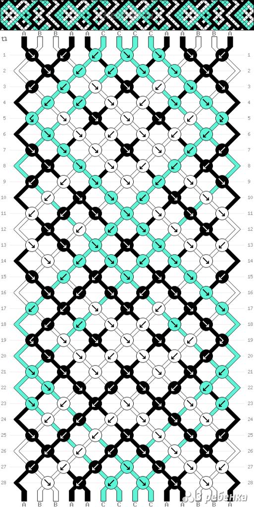 Схема фенечки 32894