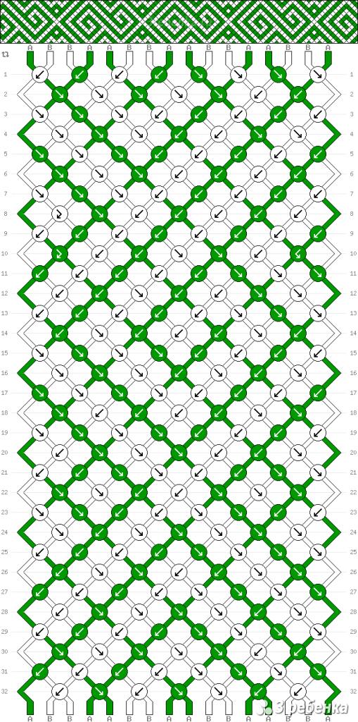 Схема фенечки 32899