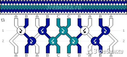 Схема фенечки 32908