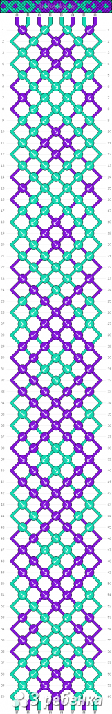 Схема фенечки 32916