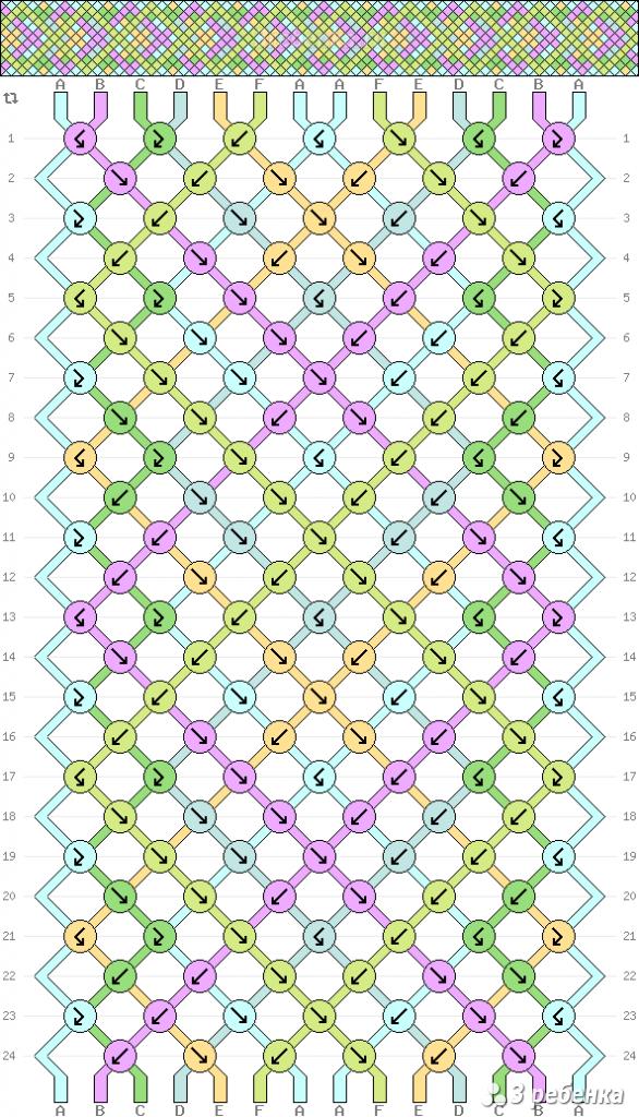Схема фенечки 32944