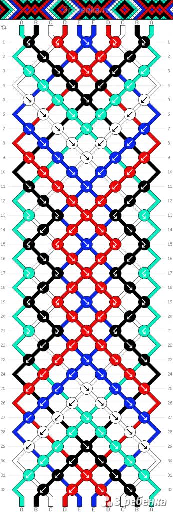 Схема фенечки 33151