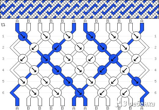 Схема фенечки 33162