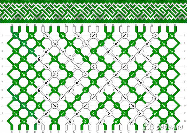 Схема фенечки 33173