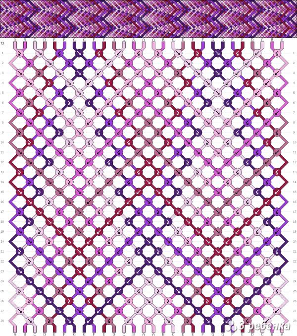Схема фенечки 33178
