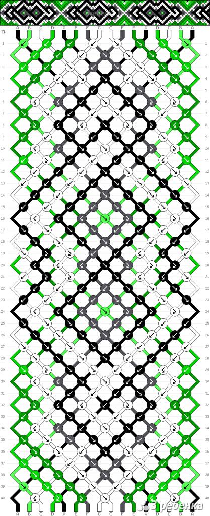 Схема фенечки 33189