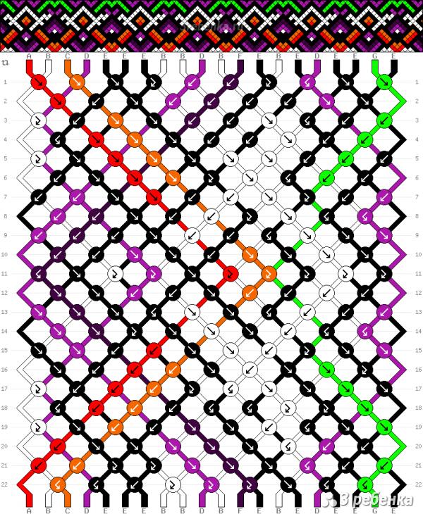 Схема фенечки 33196