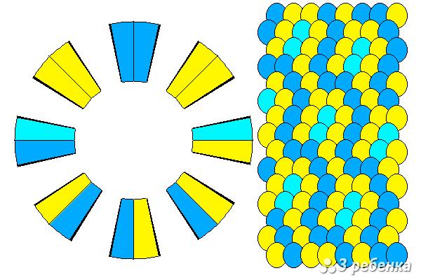 Схема фенечки кумихимо 33095
