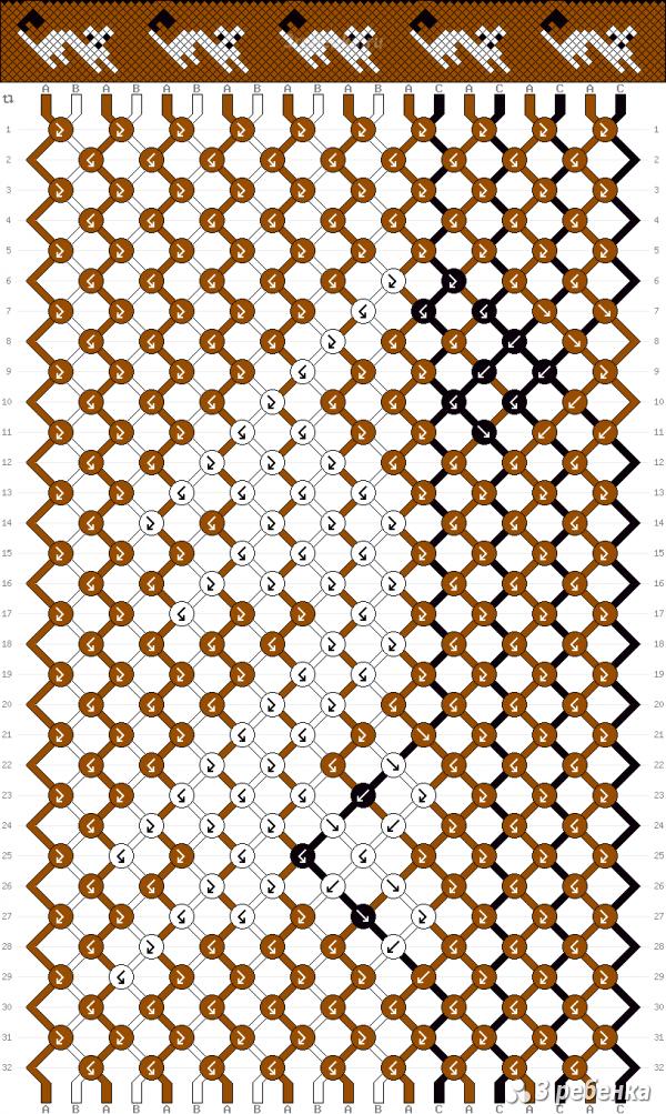 Схема фенечки 33237