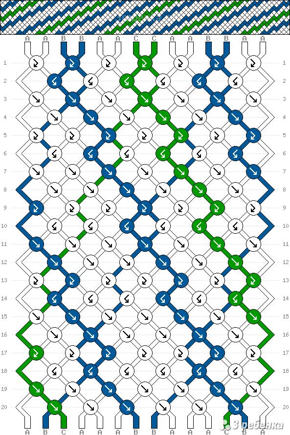 Схема фенечки 33295
