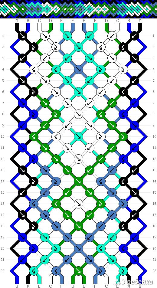 Схема фенечки 33314