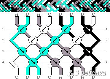 Схема фенечки 33372