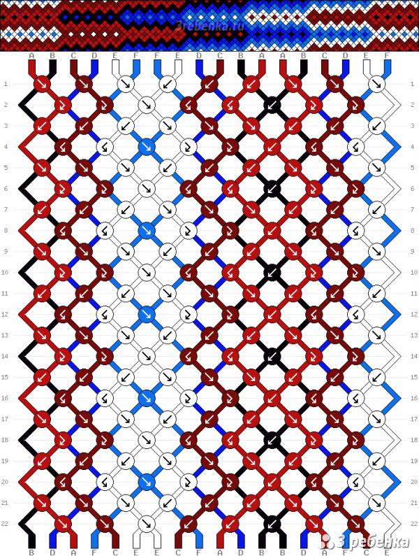 Схема фенечки 33400