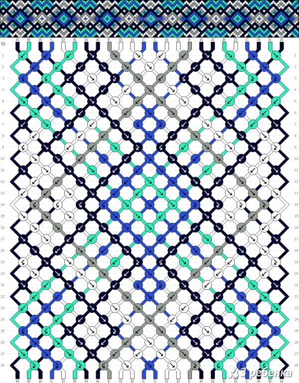 Схема фенечки 33430