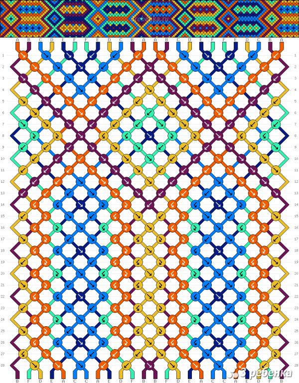 Схема фенечки 33538