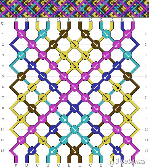 Схема фенечки 33566