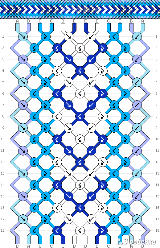 Схема фенечки 33623