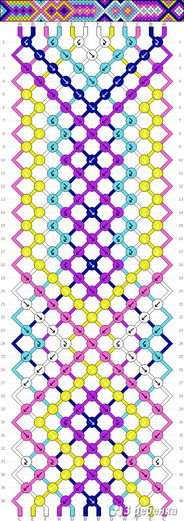 Схема фенечки 33697