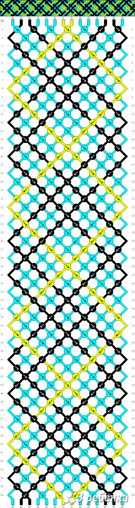 Схема фенечки 33709
