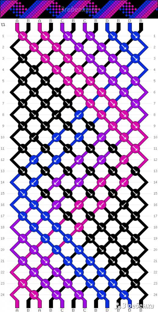 Схема фенечки 33761