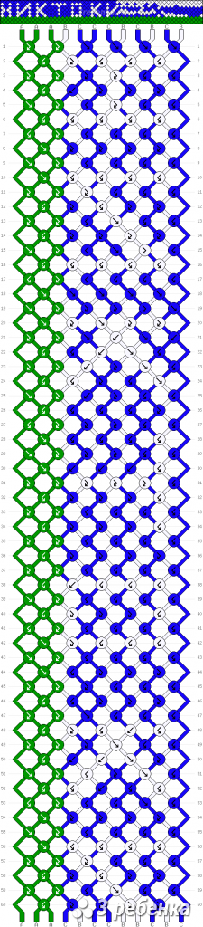 Схема фенечки 33794