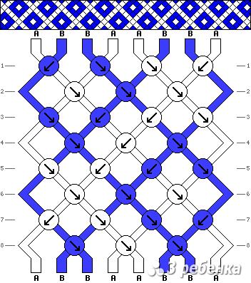 Схема фенечки 33995