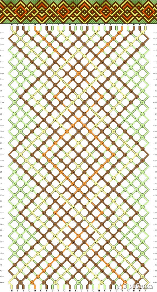 Схема фенечки 33840