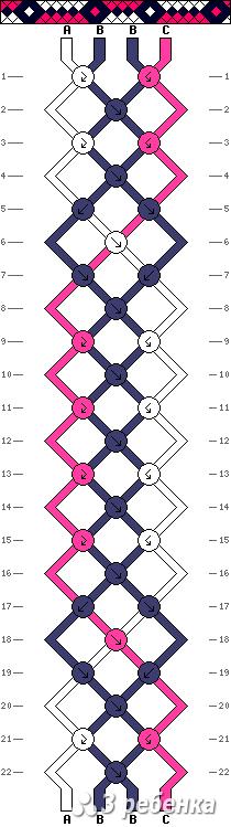 Схема фенечки 33963