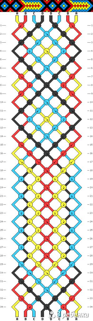 Схема фенечки 33866