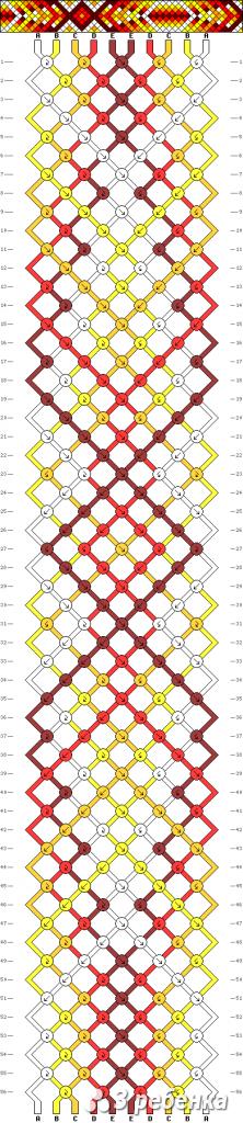 Схема фенечки 33949