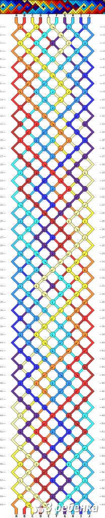 Схема фенечки 33826