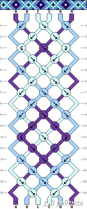 Схема фенечки 33858