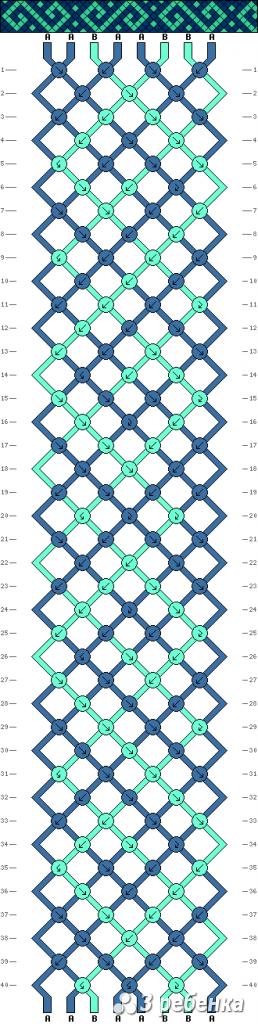Схема фенечки 33895