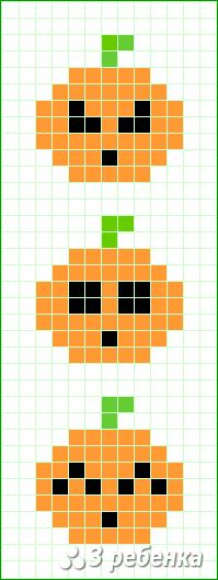 Схема фенечки прямым плетением 34032