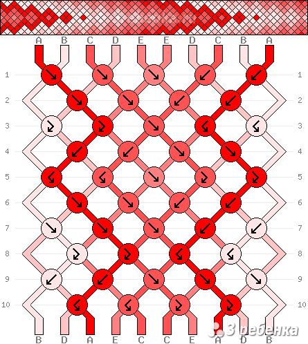 Схема фенечки 34415
