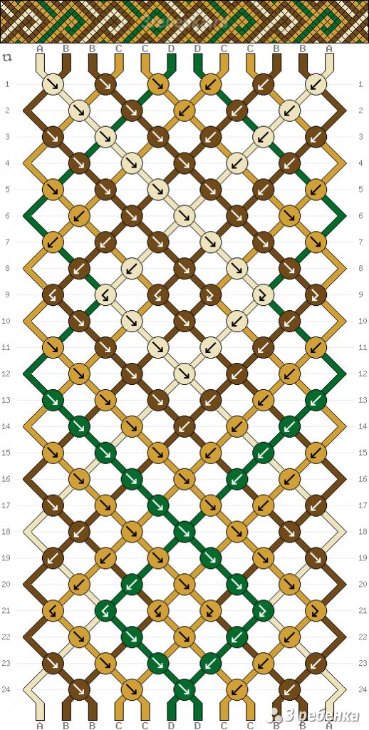 Схема фенечки 34440