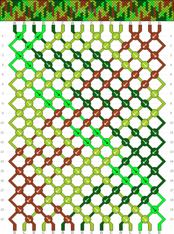 Схема фенечки 34492