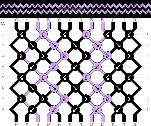 Схема фенечки 34528