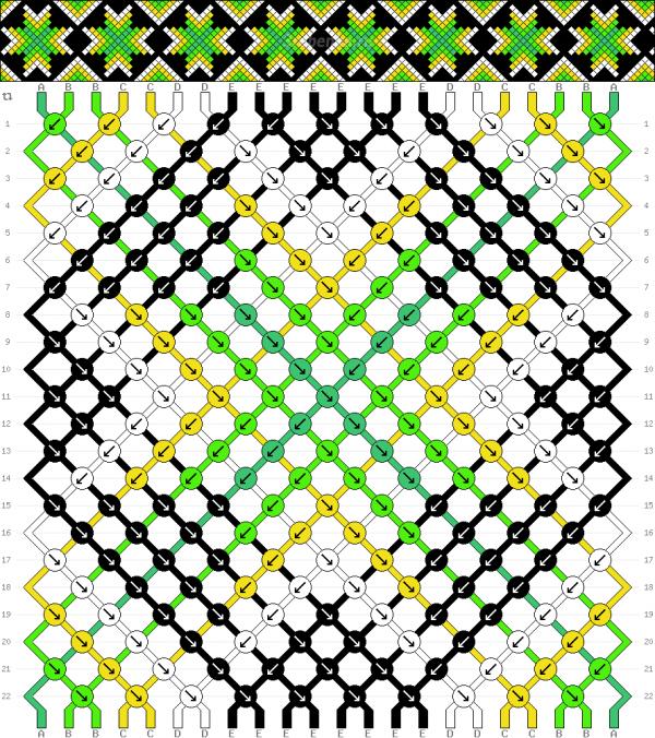Схема фенечки 34580